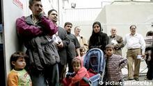 Symbolbild Irak Flüchtlinge
