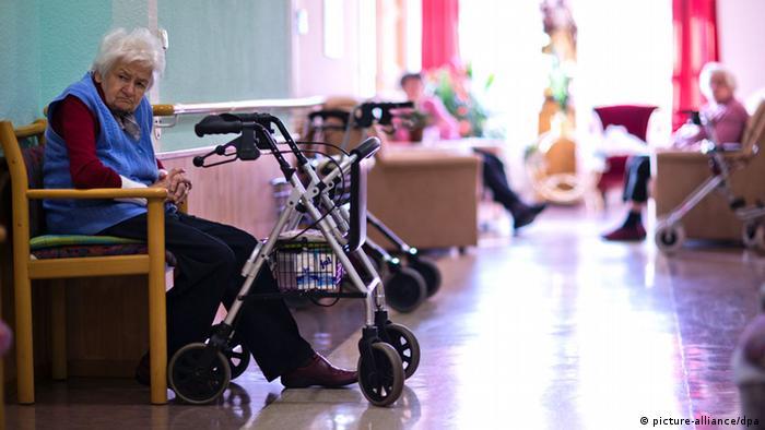 Symbolbild Pflegeheim Elternunterhalt