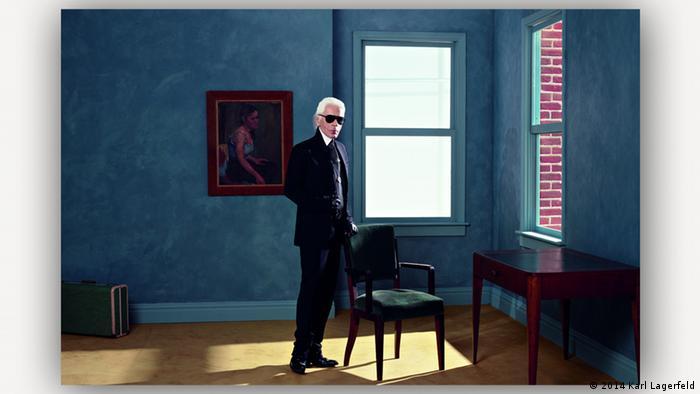 Autoportret, rad Karla Lagerfelda izložen u Esenu