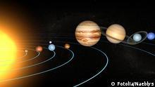 Heliozentrisches Weltbild Sonnensystem Galileo Galilei