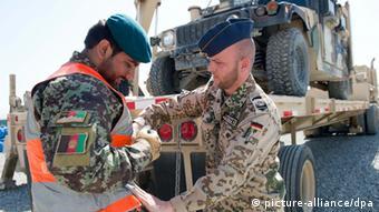 Бундесвер обучает афганских коллег