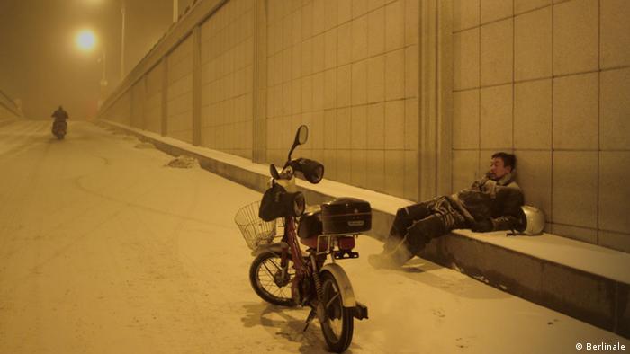 نمایی از فیلم زغال سیاه، یخ نازک