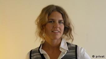 Franziska Humbert, Oxfam Deutschland und CorA-Netzwerk für Unternehmensverantwortung (Foto: privat)