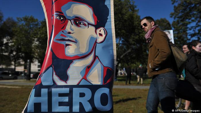 Edward Snowden Hero (Foto: AFP/Getty Images)