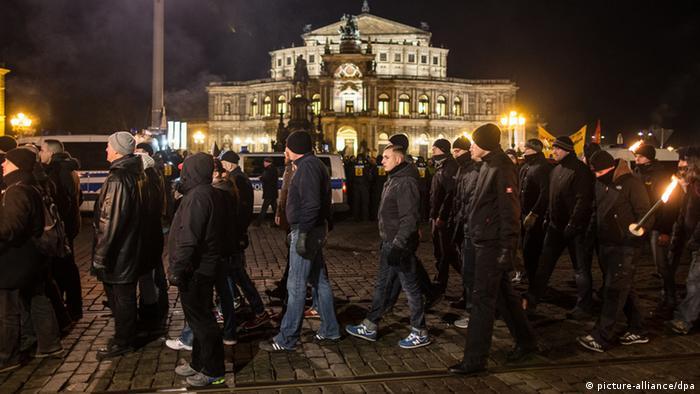 Dresden Gedenken Zerstörung Dresdens Neonazi-Aufmarsch