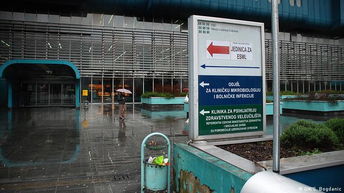 Kroatien Klinische Krankenhaus Dubrava in Zagreb