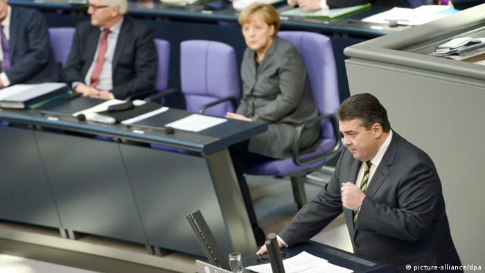 Berlin - Sigmar Gabriel