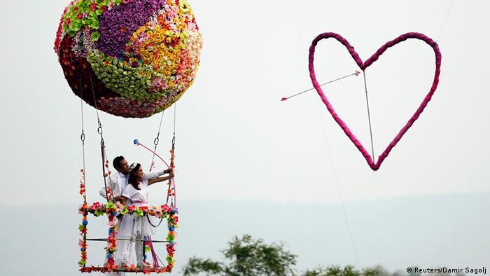 Bildergalerie Valentinstag Vorbereitungen (Reuters/Damir Sagolj)