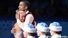 Olympia Winterspiele in Sotschi 2014 Eiskunstlaufen Robin Szolkowy und Aliona Savchenko