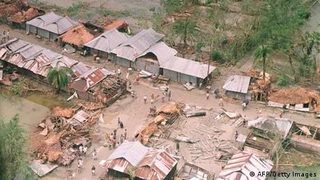 Zyklon in Bangladesch 1991
