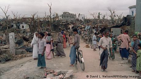 Tornado in Bangladesch 1989