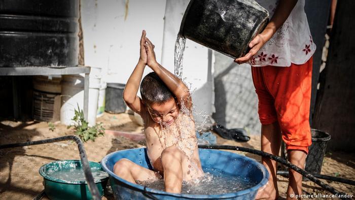 Symbolbild Israel Palästina Wasser - Gaza Stadt (Foto: APA)