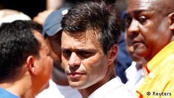 Venezolanischer Oppositionsführer Leopoldo Lopez