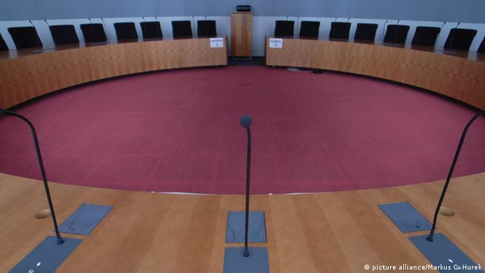 Symbolbild Ausschuss Sitzungssaal Bundestag (picture alliance/Markus C. Hurek)