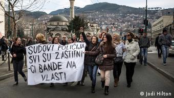 Prosvjedi u veljači u Sarajevu