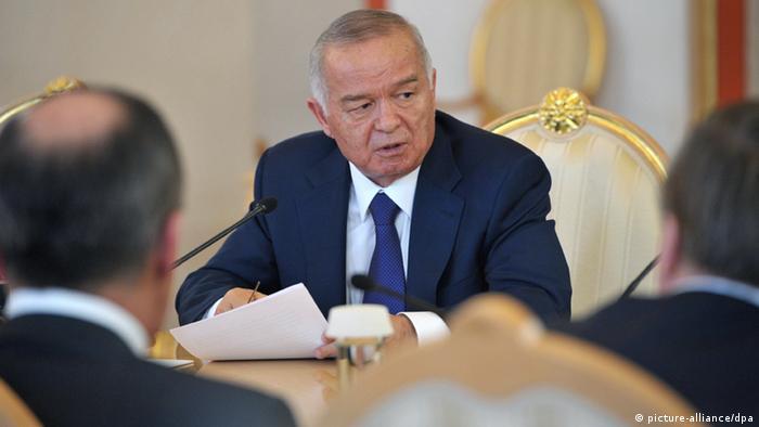 Islam Karimow Präsident Usbekistan