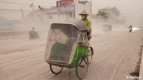 Indonesien Vulkanausbruch auf Java 14.02.2014