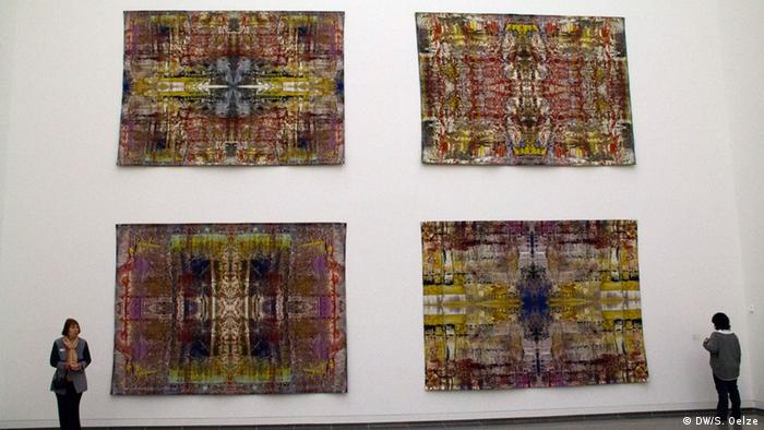 Vier Wandteppiche (Foto: DW)