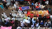 Markt in Dhaka Bangladesch