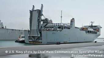 Das US-Schiff MV Cape Ray (Foto: US Navy)