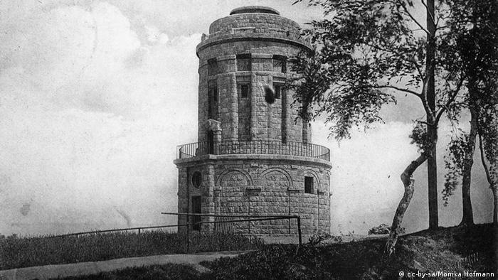 Башня Бисмарка в городе Франкенберг (Саксония)
