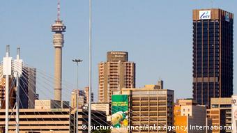 Skyline of Johannesburg