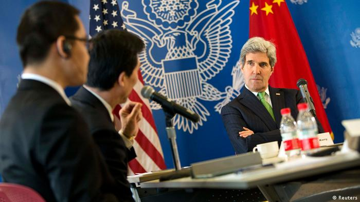 John Kerry in China 15.2.14 Peking