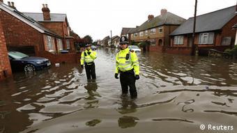 England, Überflutung, Februar 2014 Foto: REUTERS/Paul Hackett