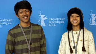 Indonesien Regisseur und Schauspielerin Isfira Febiana und Aditya Ahmad