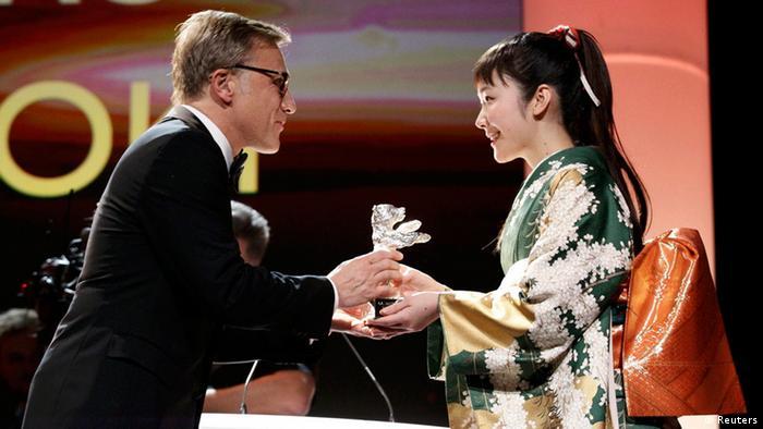 Berlinale Preisverleihung Goldener Bär 2014 Berlin Silberner Bär Beste Schauspielerin