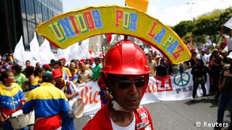 Protest Caracas Venezuela Maduro