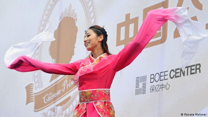 Wahl der Chinesischen Karnevalsprinzessin 2014