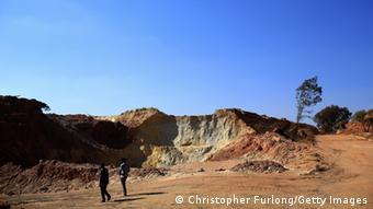 Goldmine in Johannesburg Südafrika