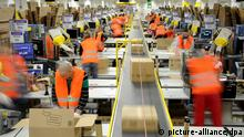 Amazon facility in Pforzheim, Germany (picture-alliance/dpa)