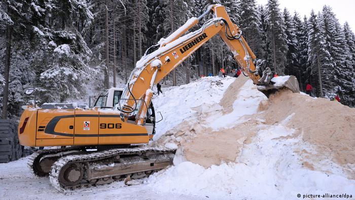 Schnee Von Gestern Wissen Umwelt Dw 17 02 2014