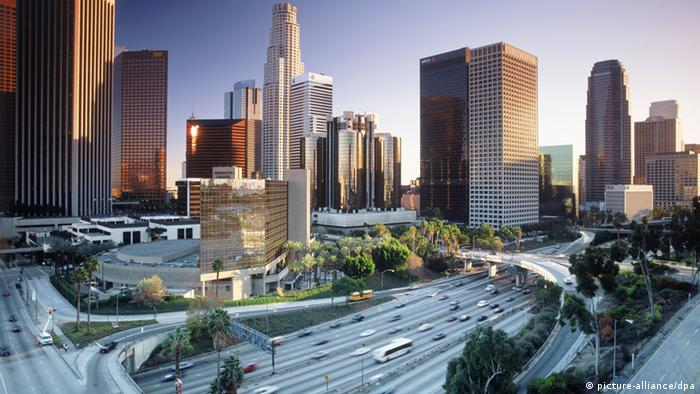 Los Angeles Skyline Downtown (picture-alliance/dpa)