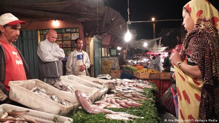 Marokko Fischmarkt in El Aaiun