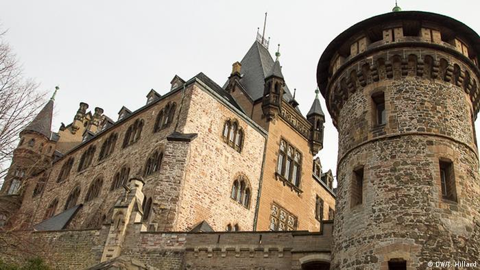Wernigerode Castle, Photo: DW / K. Sacks