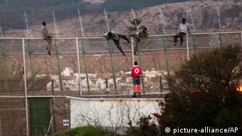 Spanien Ansturm auf Grenze von spanischer Exklave Melilla