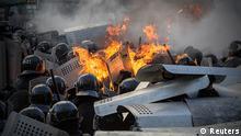 Ukraine Kiew Kiev Proteste Zusammenstöße 18.2.14