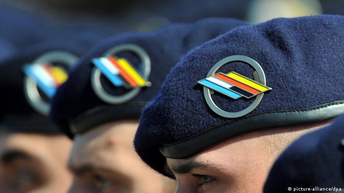 Deutsch-Französische Brigade Soldaten Deutschland Frankreich