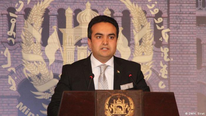 Shakib Mustaghni Afghanistan Außenministerium (Foto: DW)