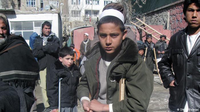Afghanistan körperbehinderte Kinder