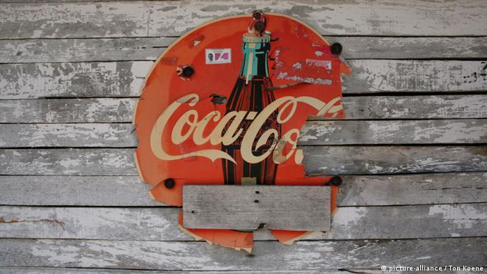 Старый логотип Coca-Cola