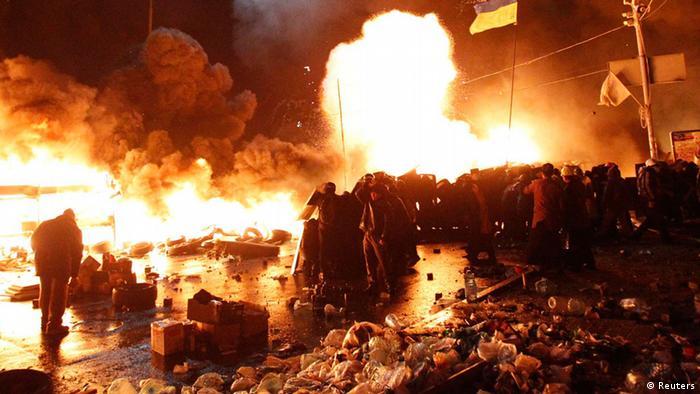 Ескалація на Майдані