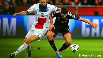 Champions League Leverkusen vs. Paris