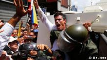 Leopoldo Lopez Demonstration in Caracas