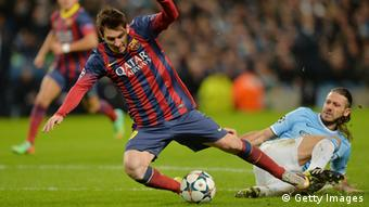 Champions League Manchester City vs. Barcelona