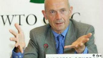 WTO Generaldirektor Pascal Lamy