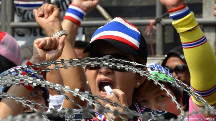Proteste und Unruhen in Thailand 19.02.2014